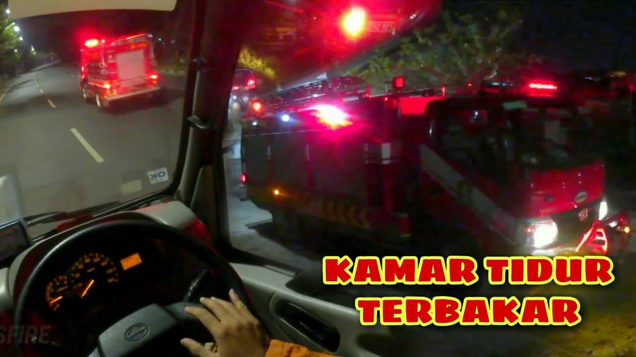 SUB FIRE : Kebakaran Kamar Tidur Jl. Sememi Jaya