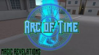 Checking out Arc of Time in Magic Revelations (ROBLOX)