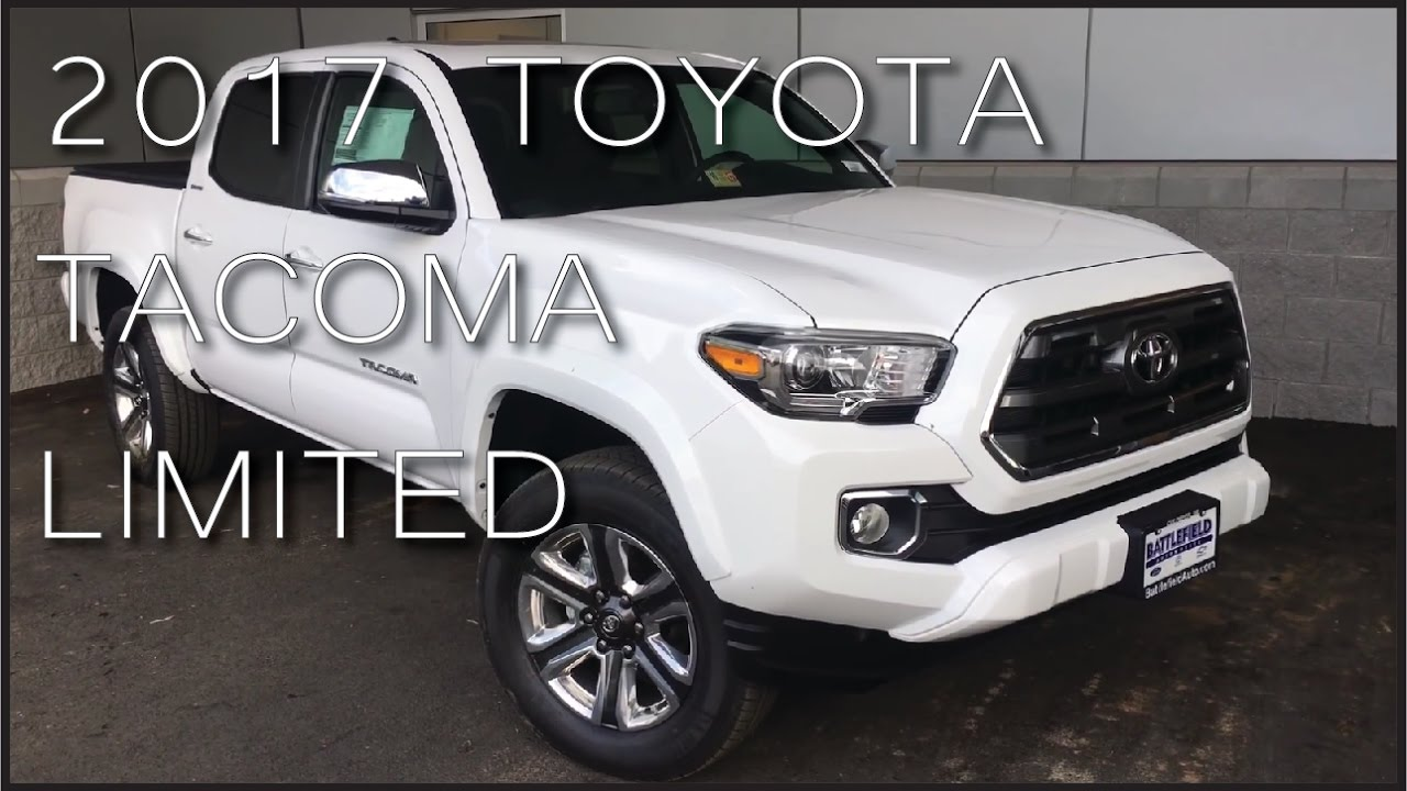 2017 toyota tacoma limited youtube. Black Bedroom Furniture Sets. Home Design Ideas