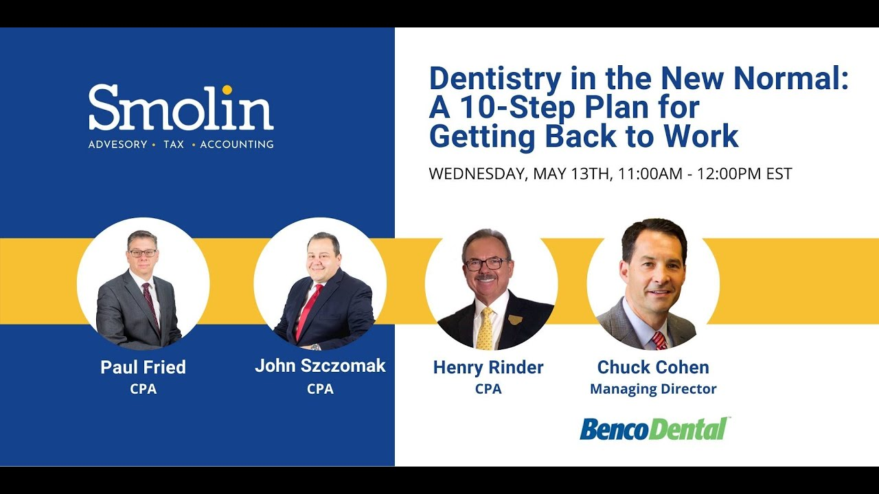 Dentistry In The New Normal A 10 Step Plan For Getting Back To
