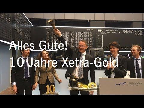 Opening Bell Event zum 10-jährigen Bestehen von Xetra Gold