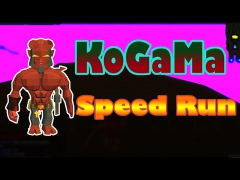 KoGaMa | Steve Parkour | (speed run)