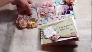 Projects Share - Altered Wooden Frame And Love Letters Mini