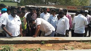 Health Minister Laxma Reddy Inspected Development Works at Badepally