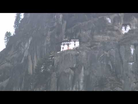 William and Kate hike to Tiger's Nest Monastery in Bhutan   BBC News