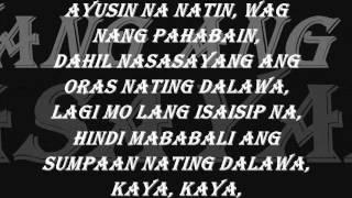 Repeat youtube video Hangga't may pagkakataon - Vlync [ Lyrics ] 2013