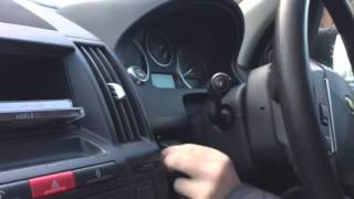 Land Rover Freelander 2 starting problem video 2