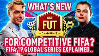 FIFA 19 GLOBAL SERIES EXPLAINED! PRO POINTS, NEW FUT CHAMPS FORMAT & MORE!