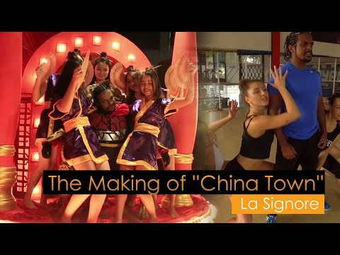 La Signore - The Making of ''China Town''  Music Video
