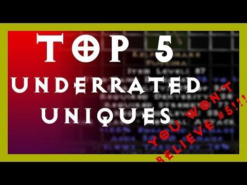 Diablo 2 - TOP 5 UNDERRATED Unique Items - YOU WON'T BELIEVE #5