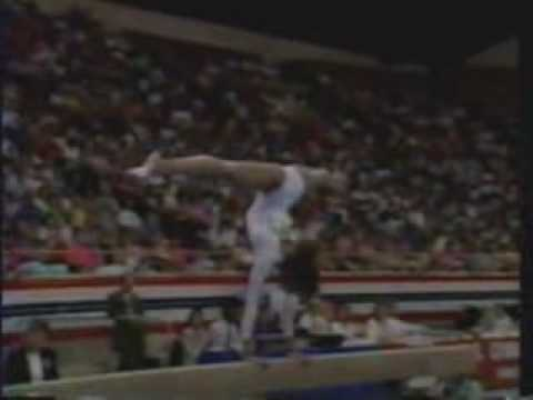 Betty Okino - 1990 US Nationals Event Finals - Balance Beam streaming vf