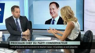 Course à la chefferie du Parti conservateur – Marc-André Leclerc