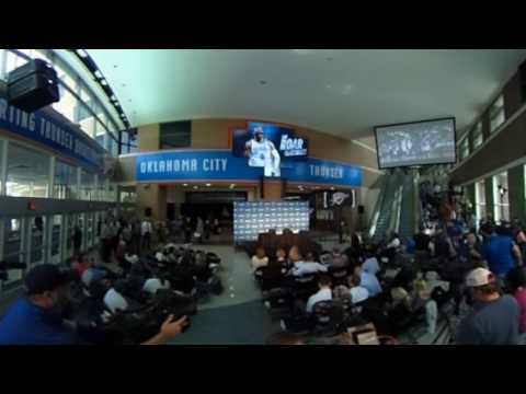 360 Video before Westbrook Press Conference