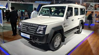 2020 Force Motors Trax Cruiser | Auto Expo 2020 | Motoroids