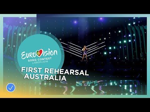 Jessica Mauboy - We Got Love - First Rehearsal - Australia - Eurovision 2018