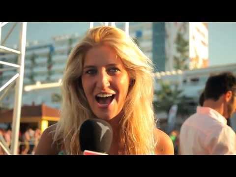 Francesca Hull at Ushuaïa Ibiza Beach Hotel