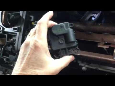 2006 Ford F 250 Super Duty Fuse Box Diagram Blend Door Actuator 2008 F 250 Youtube