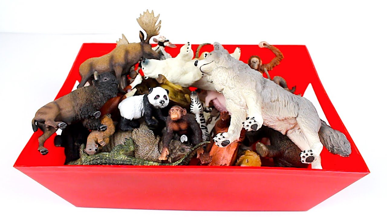 31 Animal Toy Figurines Collection
