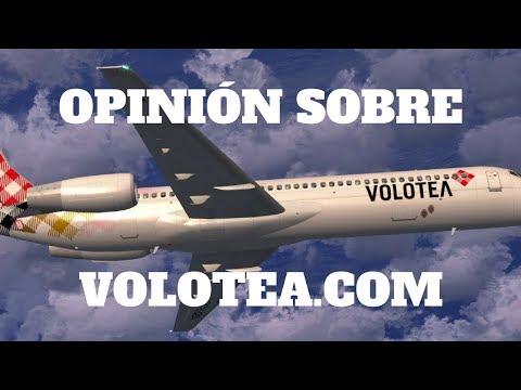 VOLOTEA opiniones ✈ Cómo reservar vuelo y volar más barato en Volotea.com ⭐