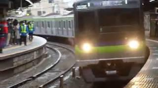 都営新宿線 10-300形10-500編成区間急行「京王多摩センター行き」下高井戸駅通過