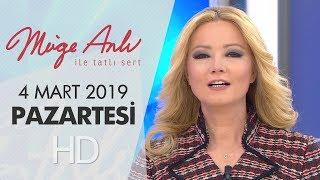 Müge Anlı ile Tatlı Sert 4 Mart 2019 | Pazartesi