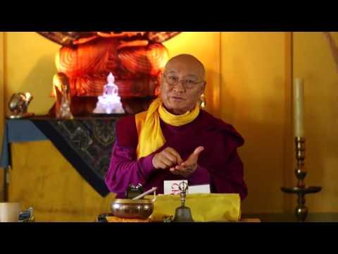"Complete Dzogchen Teaching on Karma Lingpa's ""Beholding Naked Awareness"""