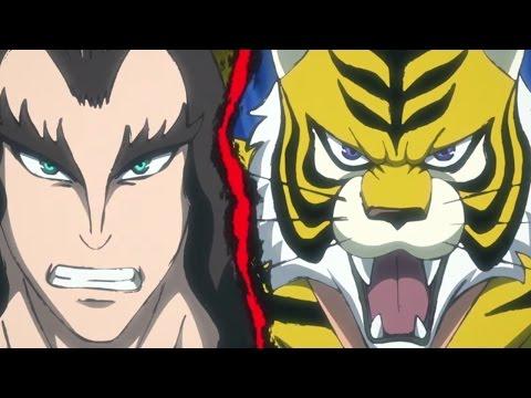|Tiger Mask vs Odin | AniMeat | Byto | 720P