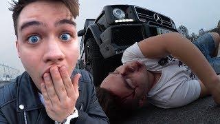 Vlog: Ужасная Авария На Mercedes | Сбил Человека | Дтп/Р Разбил Машину Prank