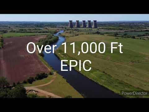 UK Longest Mavic Mini Flight  PT  2  5.8Ghz How Far!!!!!!!;;