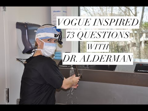 Vogue Inspired 73 Questions with Dr. Amy Alderman
