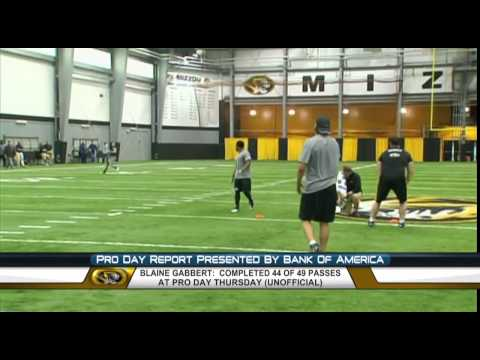 Mike Mayock: Blaine Gabbert Pro Day #1 QB