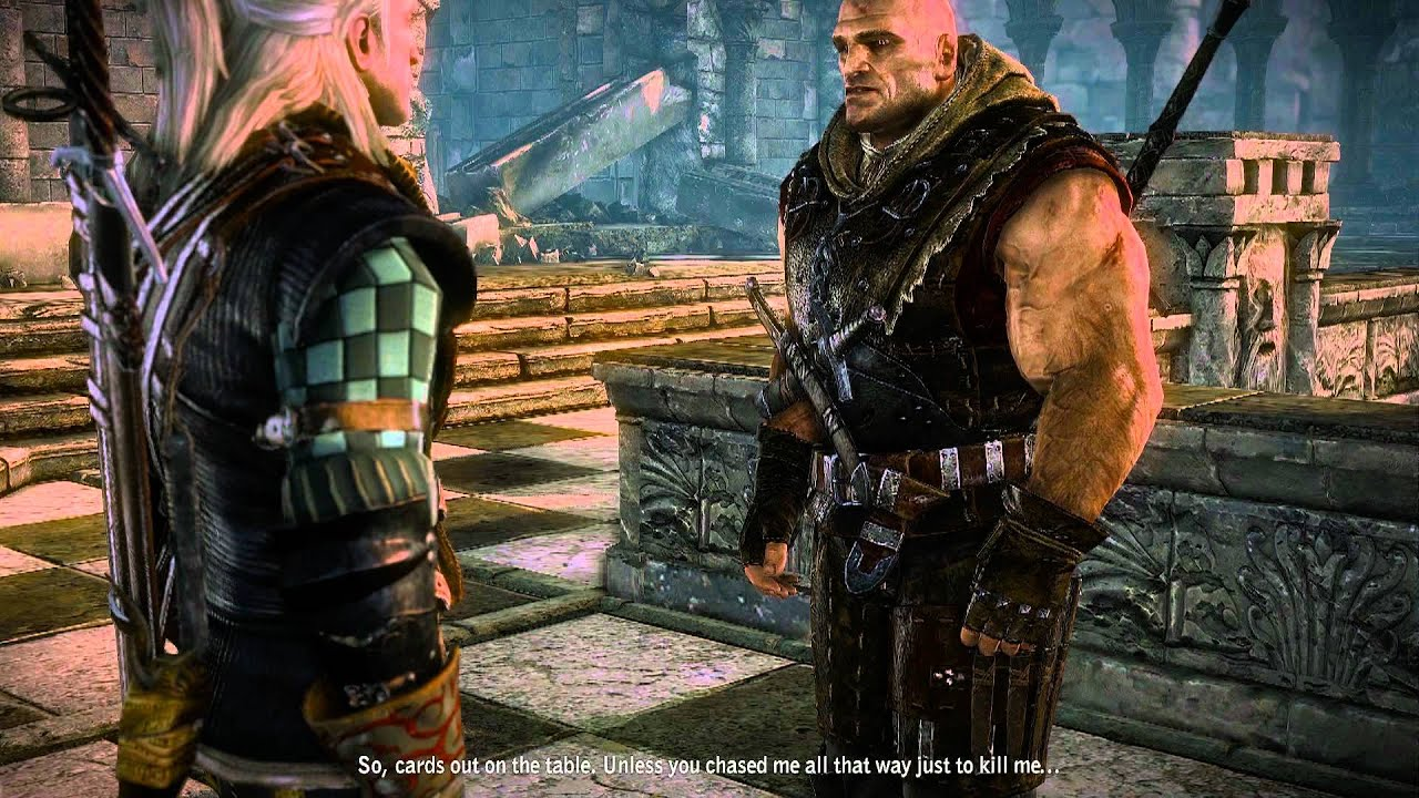 the witcher 2 drache