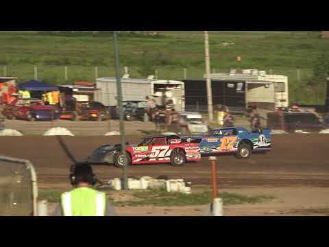 Pro Class Heat Race at Mt. Pleasant Speedway, Michigan on 06-07-2019!