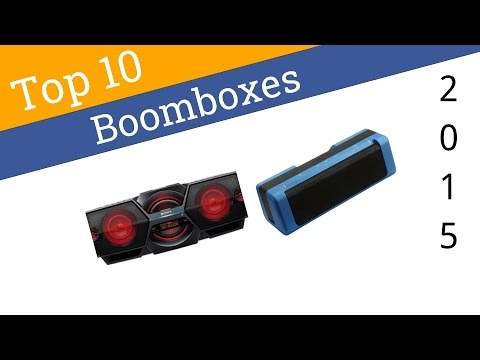 10 Best Boomboxes 2015 from YouTube · Duration:  4 minutes 55 seconds