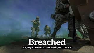 How to Say Breached in English?   What is Breached?   How Does Breached Look? thumbnail
