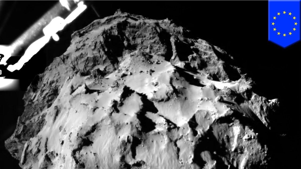 Rosetta mission: Philae probe makes historic landing on ...