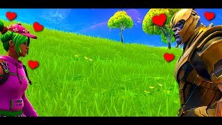 THANOS FALLS IN LOVE WITH ZOEY - A Fortnite Short Film