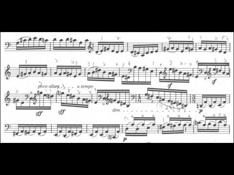 György Ligeti: Sonata for Solo Cello [w/ score]