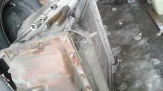 перший ремонт юмз - 6кл,потік радіатор.