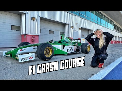 Learn how to drive an F1 car in 1 hour!
