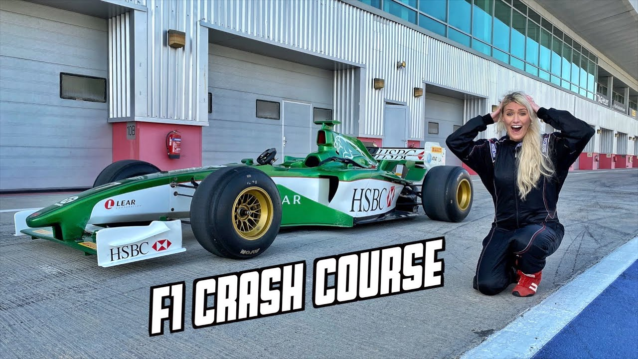 Learn how to drive an F1 car in 1 hour! - YouTube