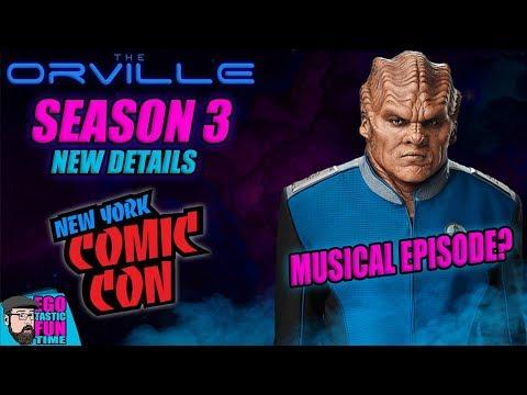 The Orville Season 3 News  #NYCC2019 - Hulu Episode Count! Bigger, Longer & Uncut   MUSICAL EPISODE?