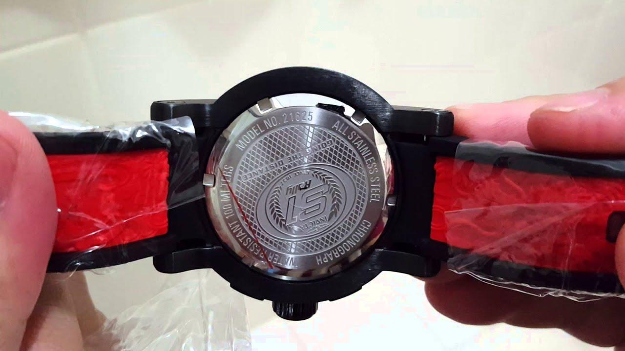 cd35eeb648b Relógios Invicta Yakuza Automatico e Quartz Cronografo Referencias 18213 e  21625 Lançamentos