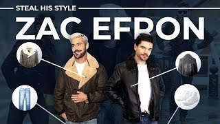 Steal His Style | Zac Efron | Men's Fashion 2019
