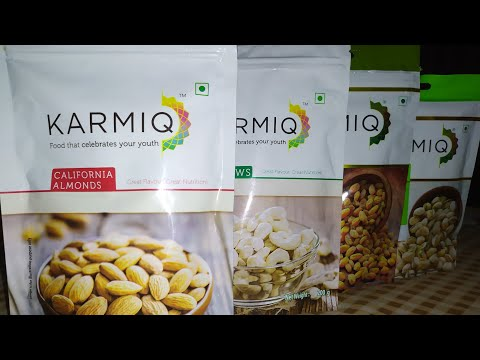 KARMIQ Food That Celebrates Your Youth ( Dryfruts  Review) ...