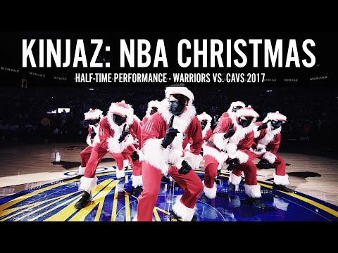KINJAZ NBA CHRISTMAS Warriors vs Cavs 2017