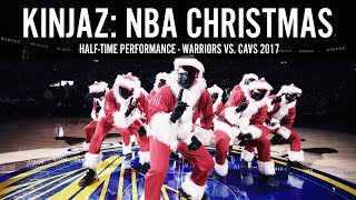 Video KINJAZ NBA CHRISTMAS Warriors vs Cavs 2017 download MP3, 3GP, MP4, WEBM, AVI, FLV Juli 2018