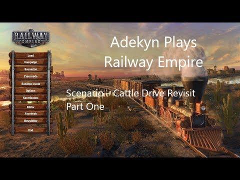 Railway Empire Scenario - Cattle Drive (Revisit) Part One