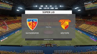 FIFA 21 Kayserispor vs Goztepe Turkey Super Lig 03 04 2021 1080p 60FPS