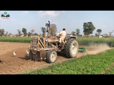 Ford 4600 Operating Rotavator in Agricultural Farm | Punjab Tractors